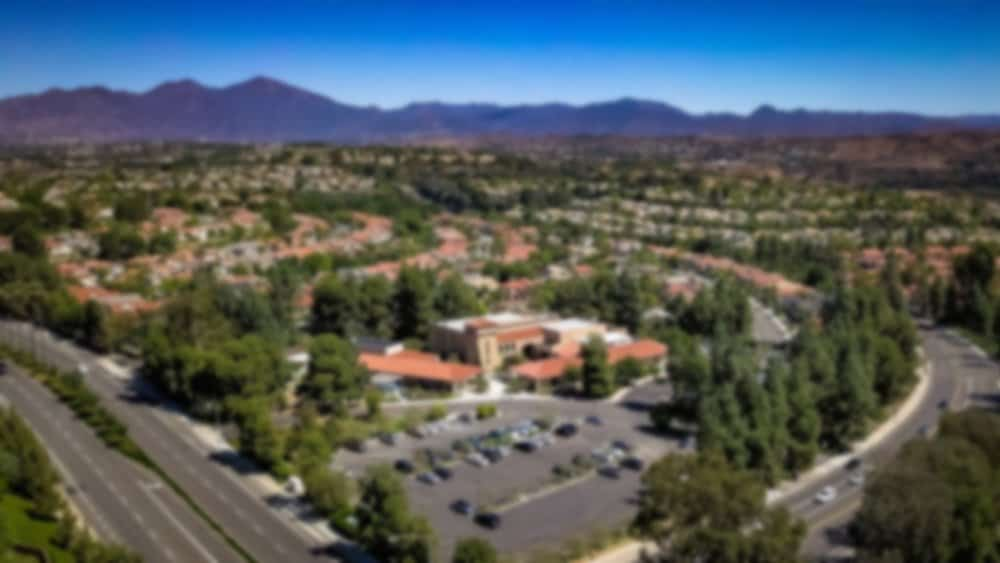 Mission Viejo Church of Christ Aerial View