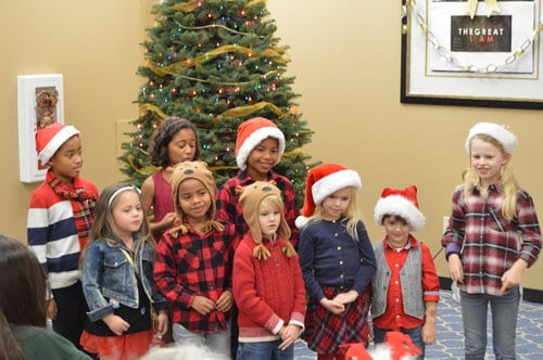 Preschool Class Mission Viejo Church of Christ at Christmas