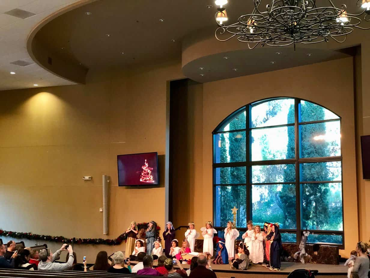 Christmas Kids Show at Mission Viejo Church of Christ