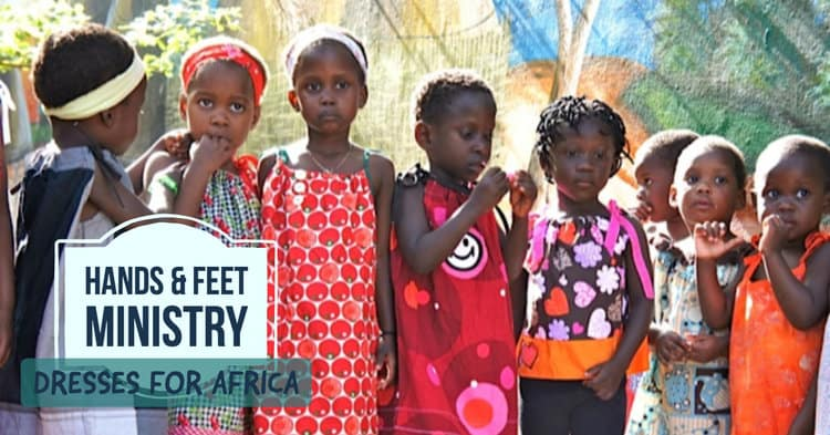 Hands and Feet Ministry - Dresses for African orphan girls