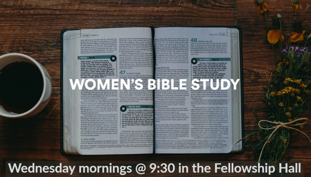 Women's Bible Study - Wednesday Mornings