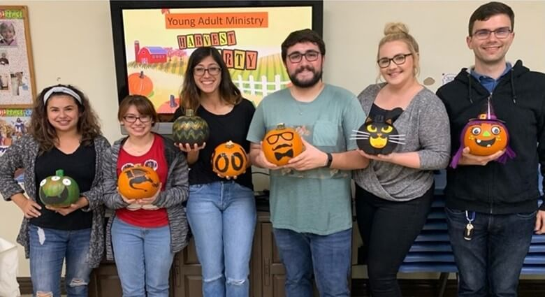 Harvest Party: Pumpkin Decorating Fall 2019 - Young Adults Ministry